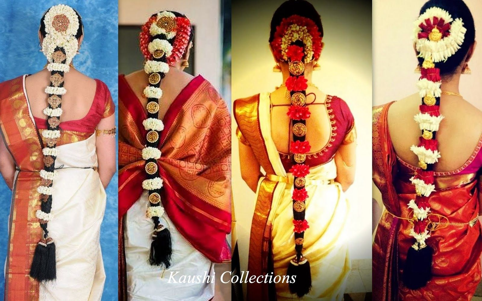 sparkling fashion: south indian bridal hair accessories