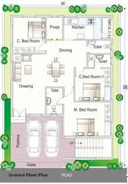 Image result for 2 BHK floor plans of 25*45   2bhk house ...