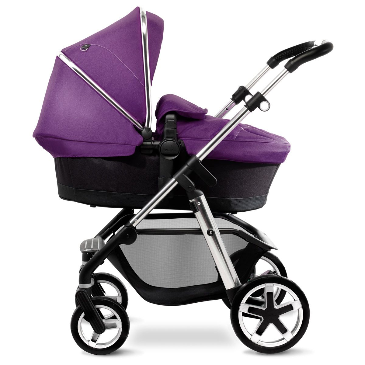 Damson Purple Pioneer Pram, Pushchair and Travel System