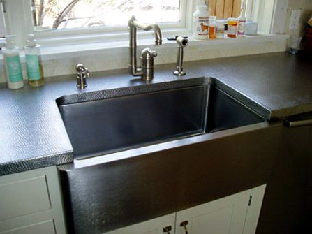 Custom Stainless Steel Countertops With Images Stainless Steel
