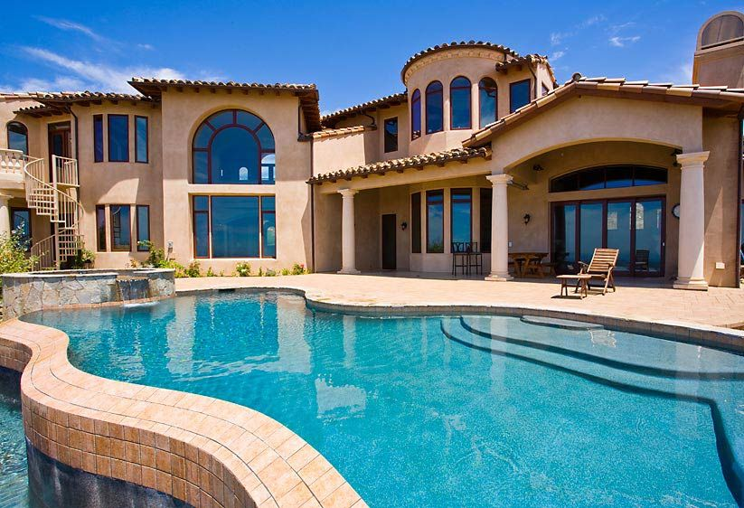 Huge Houses With Pools big homes in california - bing images | home | pinterest
