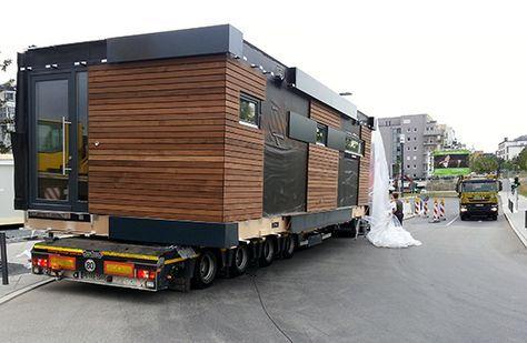 Neues wohnen im cubig designhaus minihaus tiny for Mobiles wohnen im minihaus