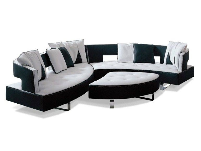 Sectional leather sofa HEART by Formenti sofa Pinterest - das modulare ledersofa heart formenti