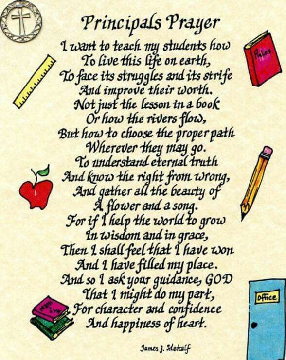principals prayer principal appreciation assistant principal teacher appreciation gifts teacher gifts teacher