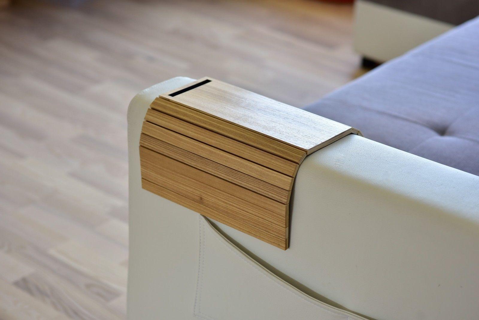 Wood Sofa Arm Tray Protectors Armrest Table Sofa Table Coaster Sofa Tray Ebay Sofa Tables For Sale Living Room Sofa Wood Sofa