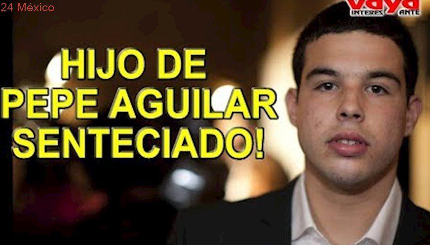 Hijo de Pepe Aguilar recibe fuerte sentencia.