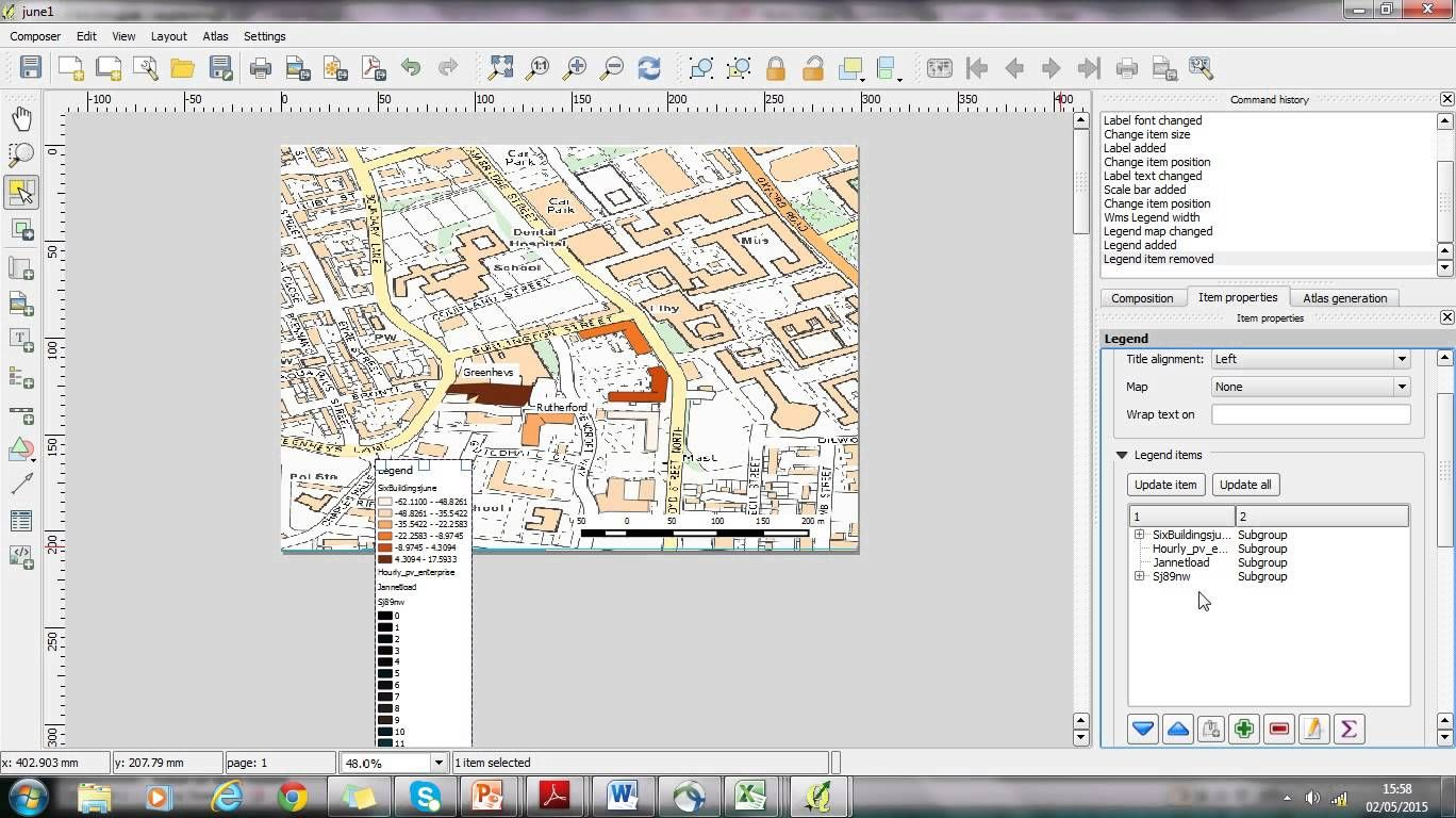 Adding A Legend In Qgis Ads Legend Digital Tools
