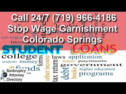 How To Stop Wage Garnishment For Federal Student Loans in Colorado