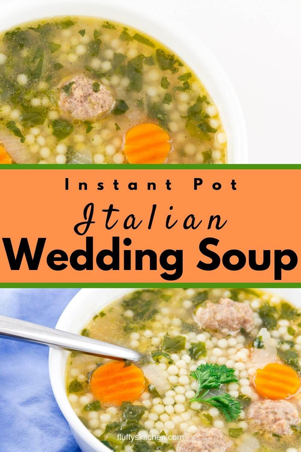 Instant Pot Italian Wedding Soup Recipe Easy soup