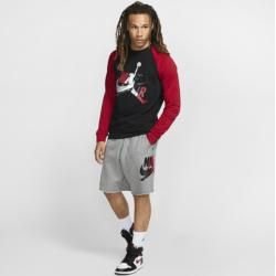 Photo of Jordan Jumpman Classics Fleece-Rundhalsshirt für Herren – Schwarz Nike