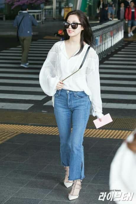 Seohyun - Incheon Airport from Thailand | Model pakaian ...