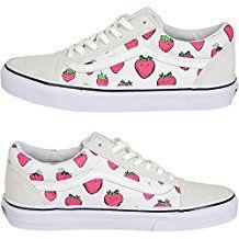 Vans Damen Sneaker Old Skool strawberry weiß   Damen und