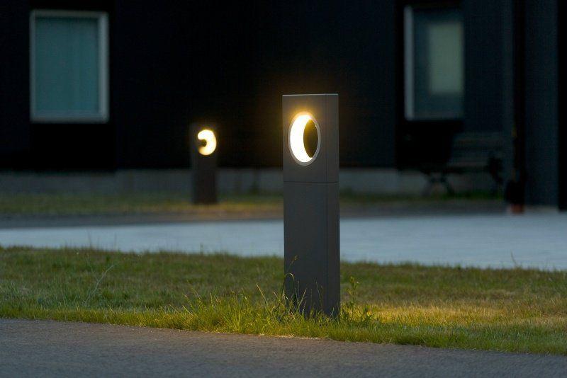 Borne Eclairage Terrasse. Luminaire Extrieur Design Bornes De ...