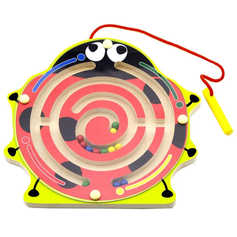 Viga Drewniany Labirynt Magnetyczny Biedronka Brykacze Pl Internetowy Sklep Z Zabawkami Dla Dzieci