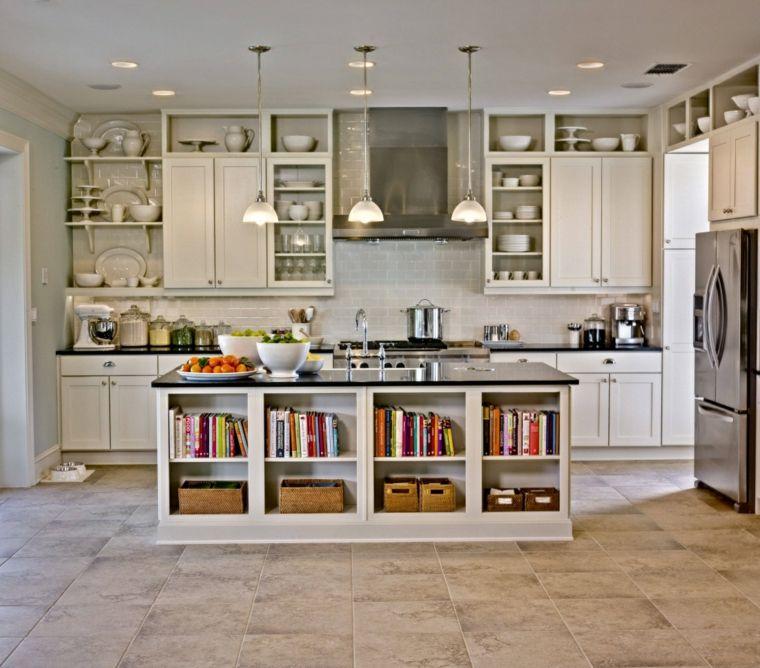 diseno cocina blanco sucio | Interiores para cocina | Pinterest