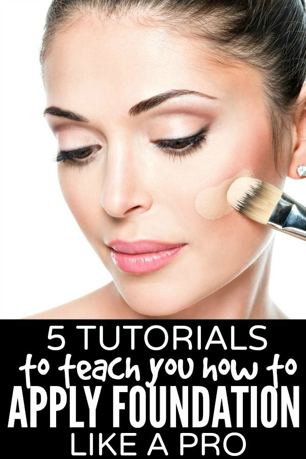 5 Tutorials To Teach You How To Apply Foundation Like A