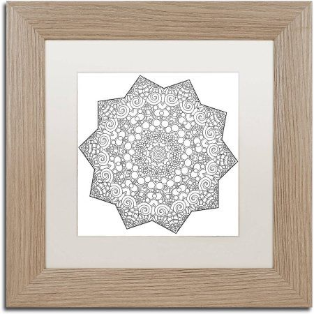 Trademark Fine Art Mixed Coloring Book 23 inch Canvas Art by Kathy G ...