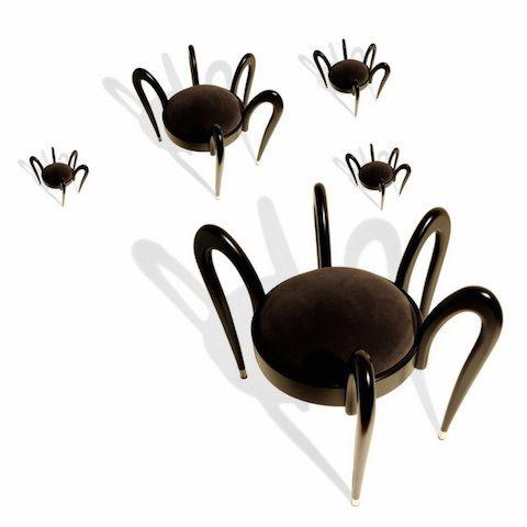 arachnid chair for Halloween