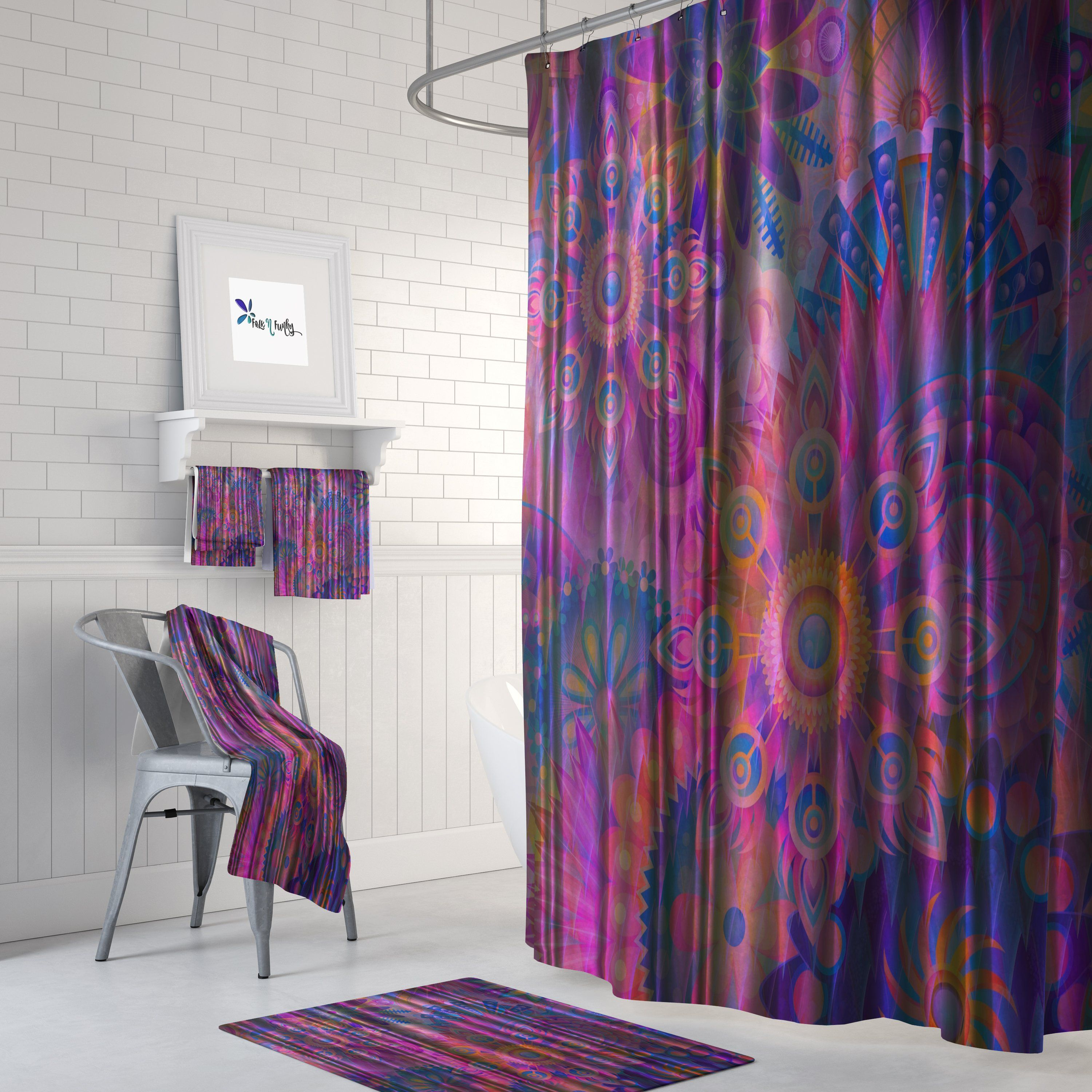 My Hippie Soul Shower Curtain Folk N Funky With Images Curtains Cheap Bathroom Accessories Shower Curtain
