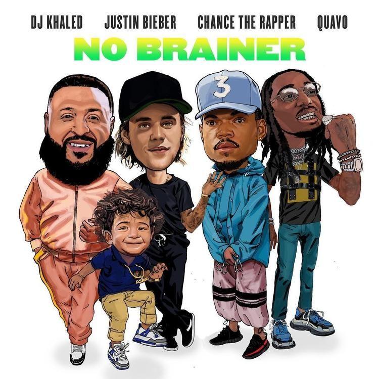 Music No Brainer Dj Khaled Feat Justin Bieber Quavo Chance The Rapper Musica Nueva Justin Bieber Corazon Musical