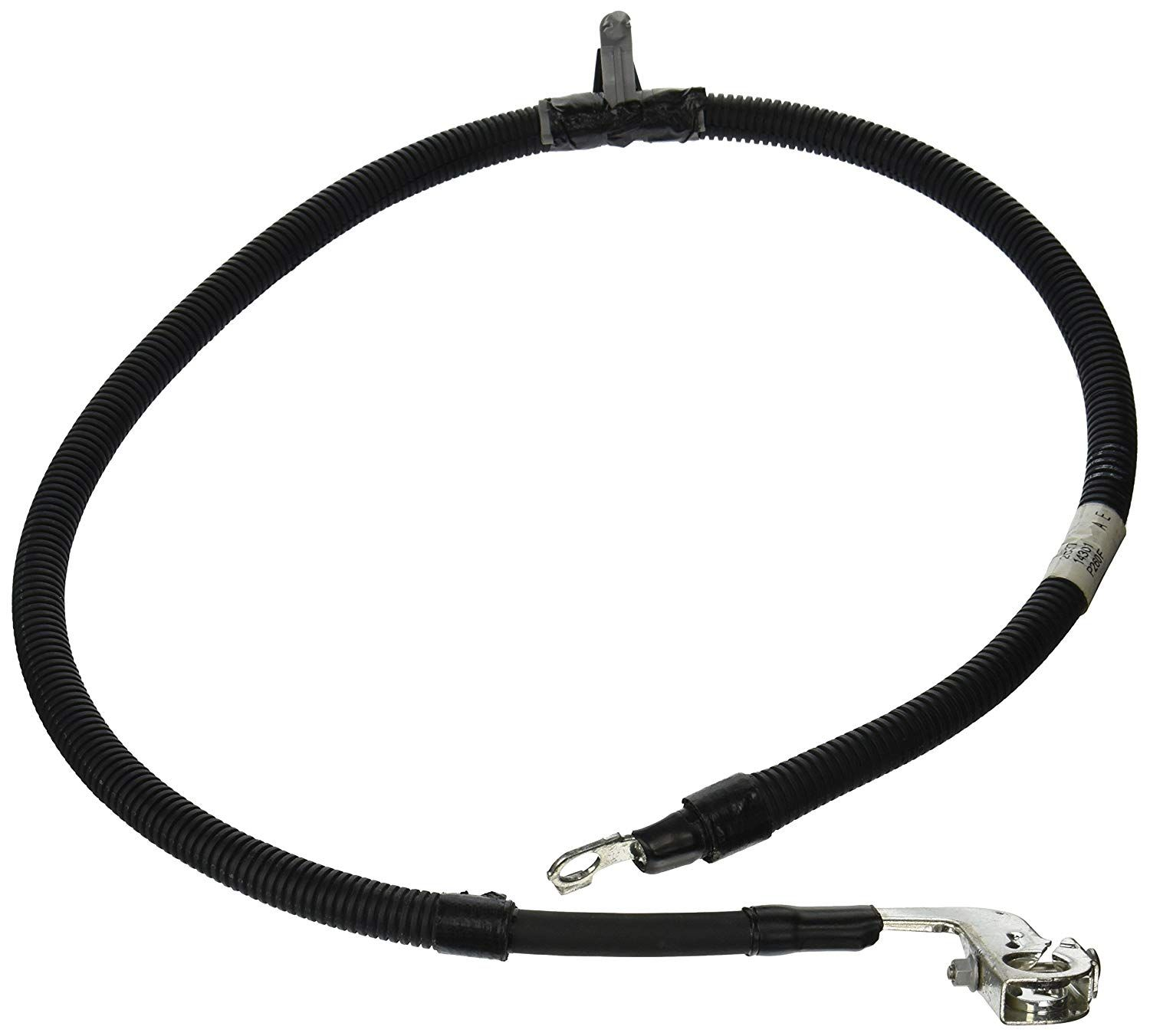 Spartan Power Black 6 Foot 2 AWG Battery Cable Negative Only