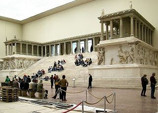 This should be in TURKEY - NOT Germany! Great Altar of Pergamon.