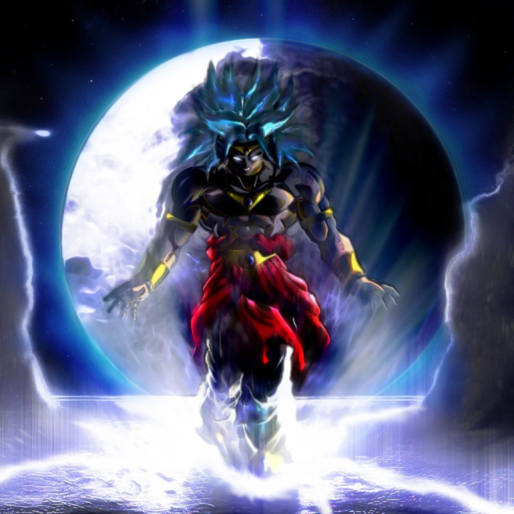 Broly in legendary super sayian thiswas my laptop - Dragon ball z live wallpaper iphone ...
