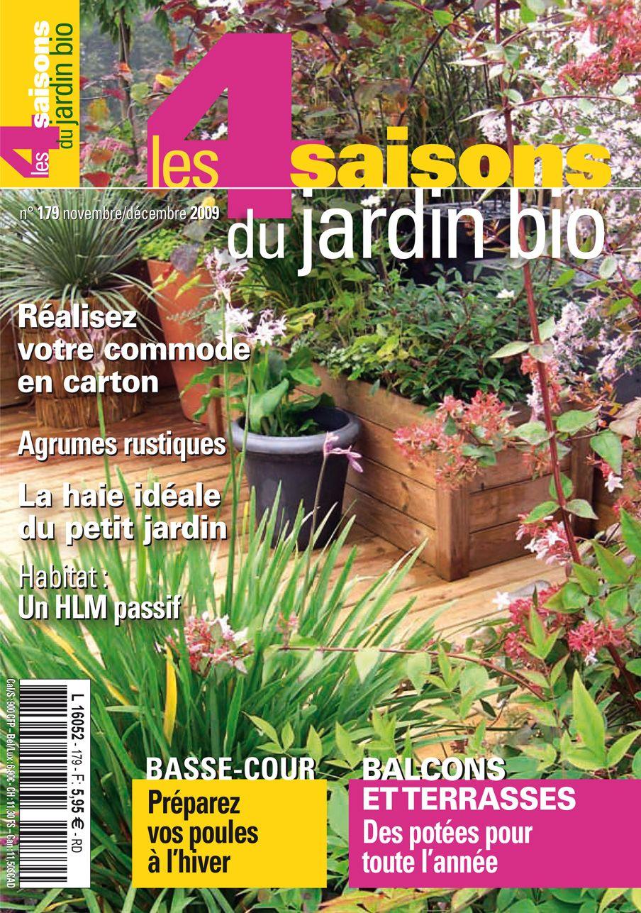Les 4 Saisons Du Jardin Bio N 179 Novembre Decembre 2009