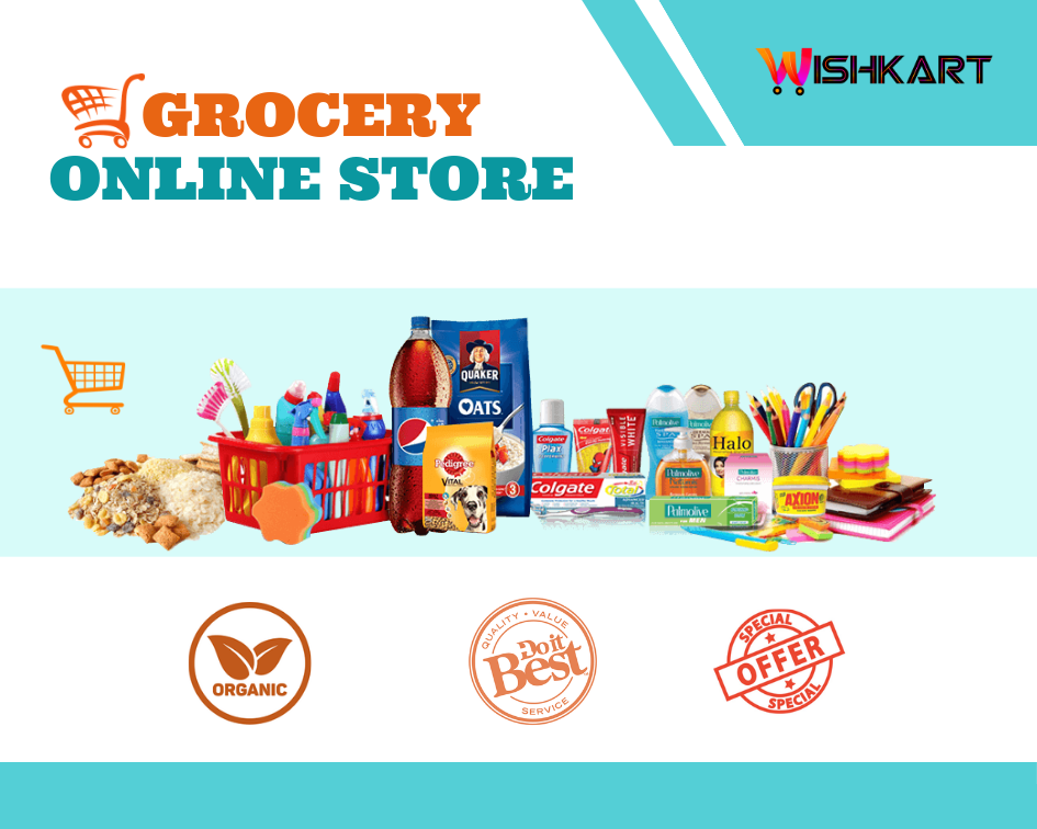 Now Grocery Shopping Going To Be Easy With Wishkart Pk Very Soon