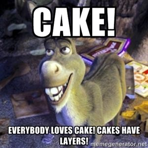 Cake Everybody Loves Cake Cakes Have Layers