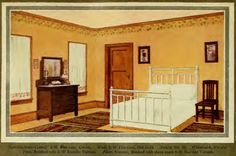 Actual 1930s interior