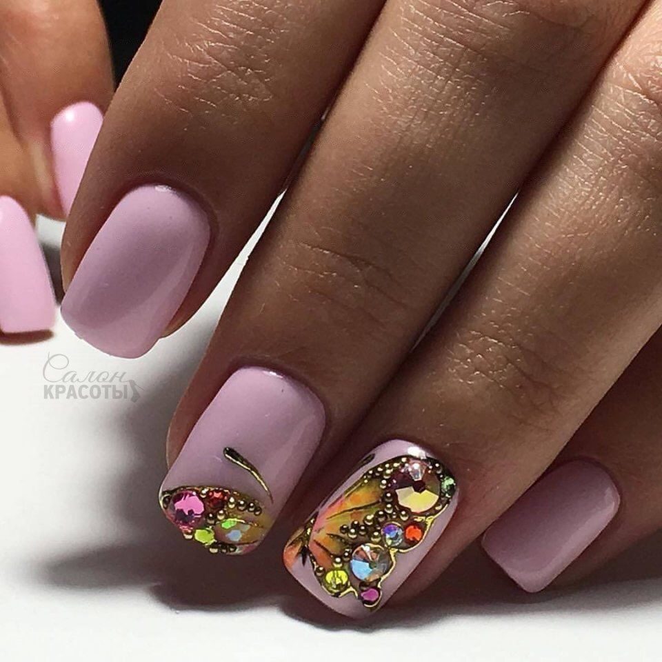 Pin by Viktoria Monroe on Nails | Pinterest | Manicure, Nail nail ...