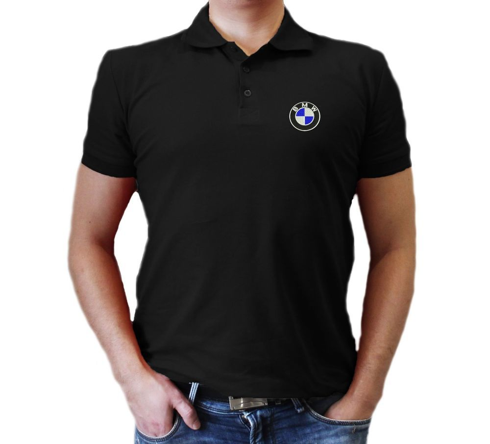 3f5f9412a17 BMW T-Shirt MENS SPORT AUTO CLOTHING Embroidered logo Polo  fashion   clothing  shoes  accessories  mensclothing  shirts (ebay link)