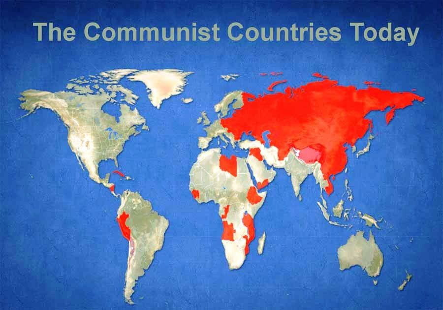 what is communism, list of communist countries, what countries are ...