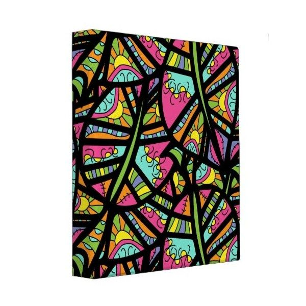 Color Explosion Binder Liked On Polyvore Featuring Home