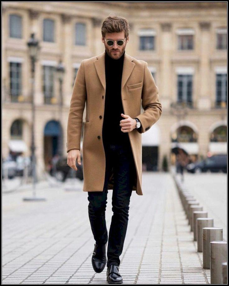 37 Tenue super tendance pour hommes à porter en hiver – #formen #Men #Outfit #super # …