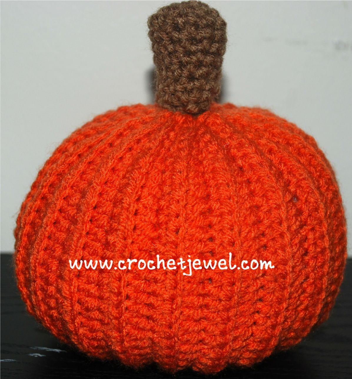 free pumpkin pattern, http://crochetjewel.com/?p=4102 | My hobby is ...