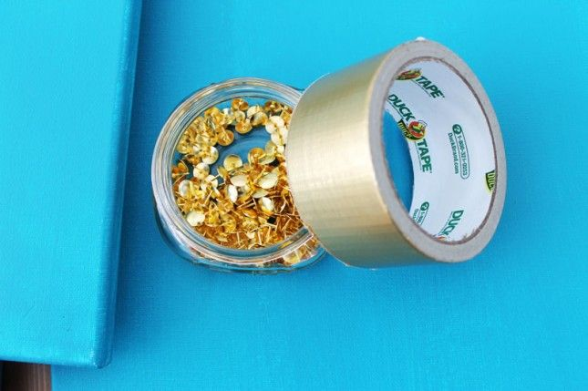 thumbtacks tape 2 chic and easy art projects via brit co