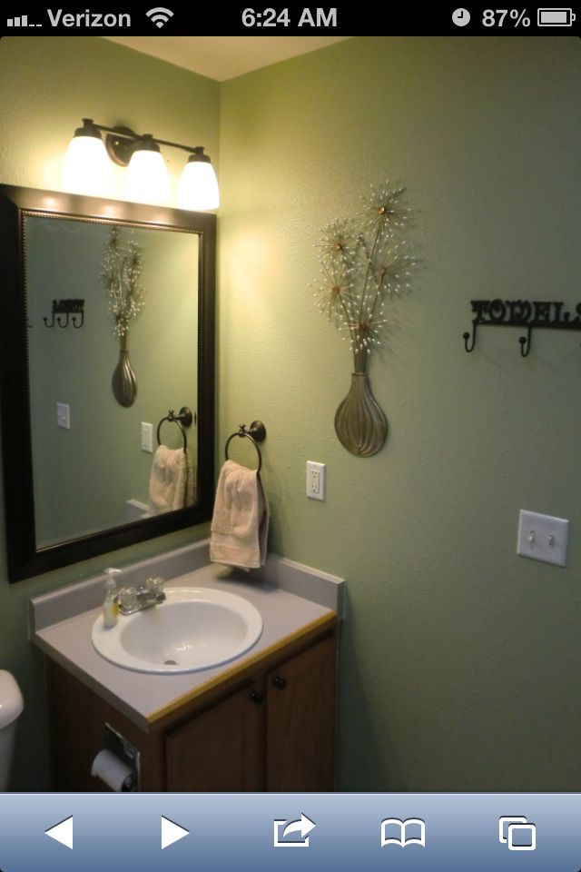 My Bathroom Redo Paint Is Graceful Grey By Behr Gray Living Room Paint Colors Paint Colors For Living Room Behr Paint Colors Grey
