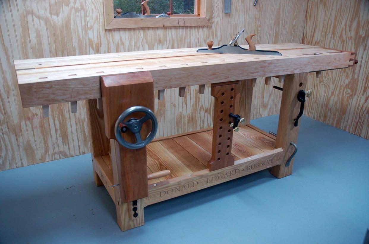 Tavolo Da Lavoro Roubo : Ruobo workbench roubo bench woodworking project plans