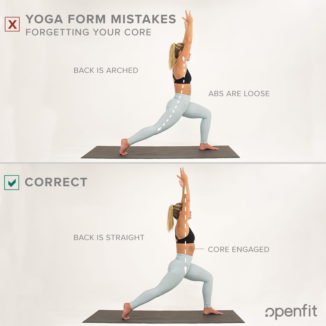 10 Most Common Yoga Form Mistakes How To Do Yoga Yoga Poses For Beginners Yoga For Beginners