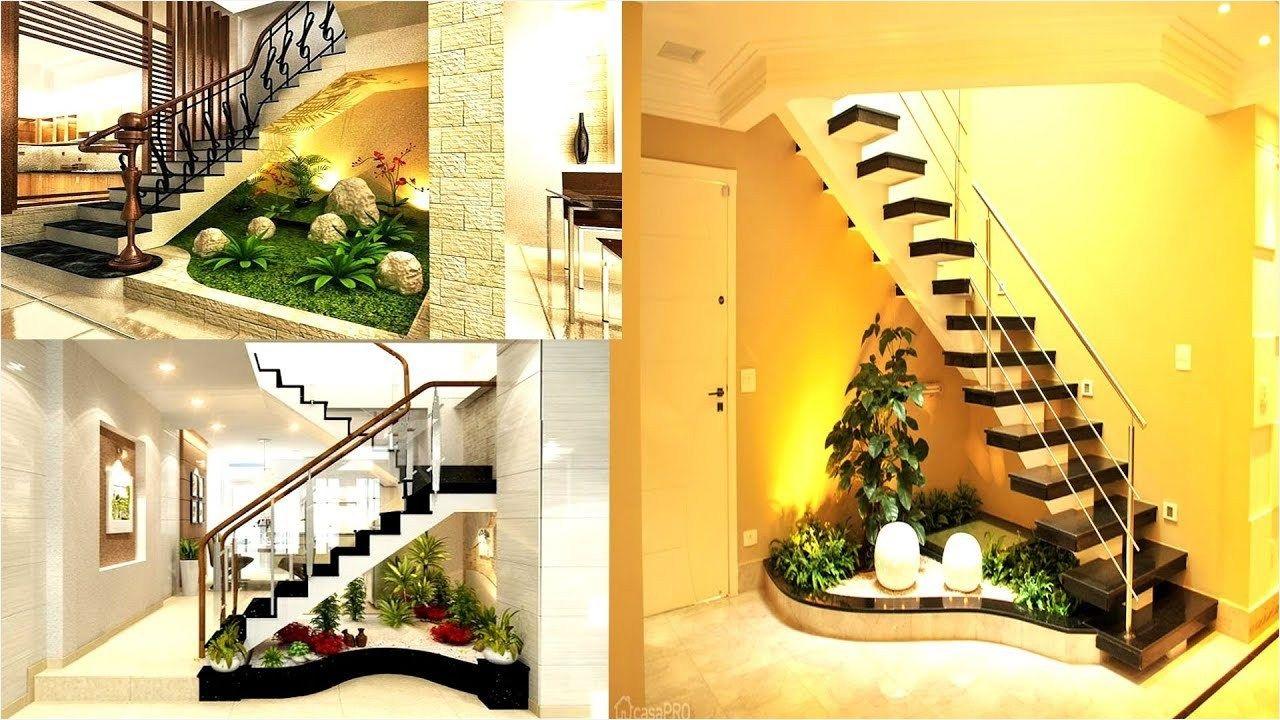 44 Stunning Ideas For Under Stair Garden Daily Home List Under | Under Stair Garden Design | Plant | Ideas | House | Stair Case | Pebble Garden