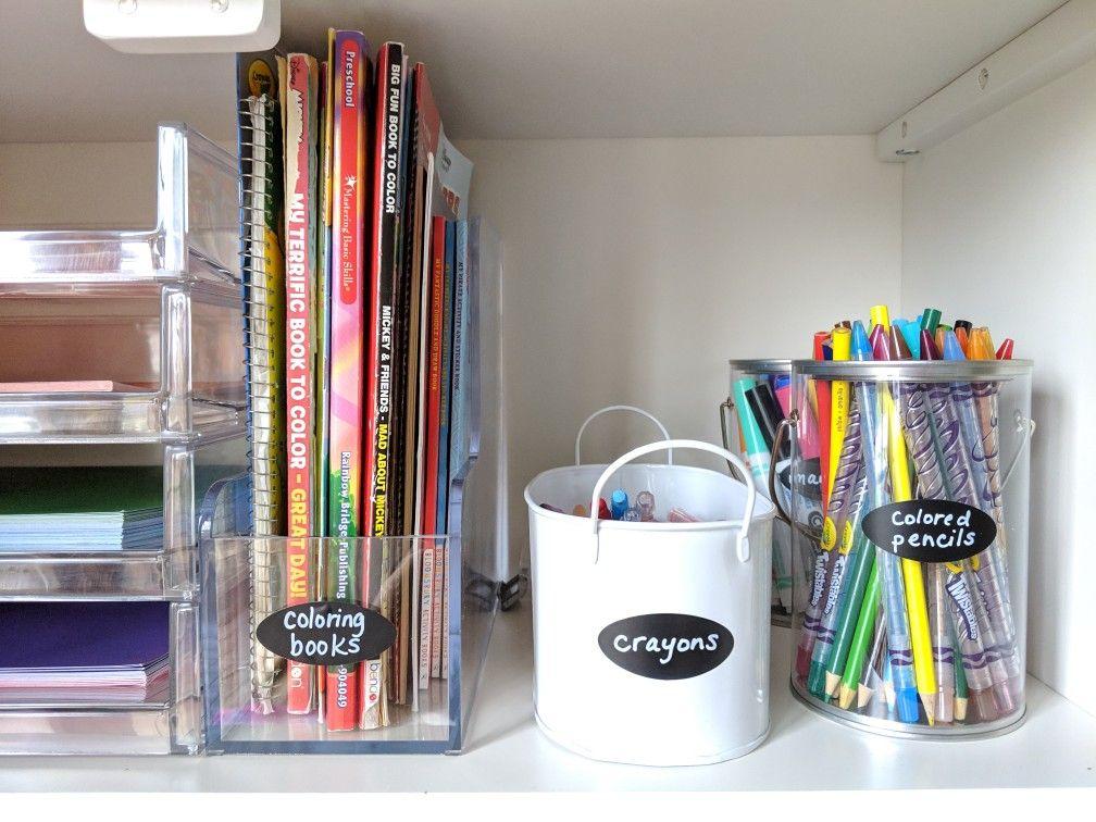 Art Supplies Organization Art Supply Organization Organization Magazine Holders