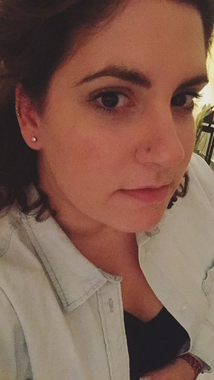 Piercing between nose and lip  Pin by Marilena Karatzi on piercingdoublehelix