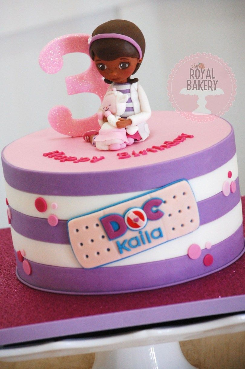 Super 21 Great Image Of Doc Mcstuffin Birthday Cakes Doc Mcstuffins Funny Birthday Cards Online Elaedamsfinfo