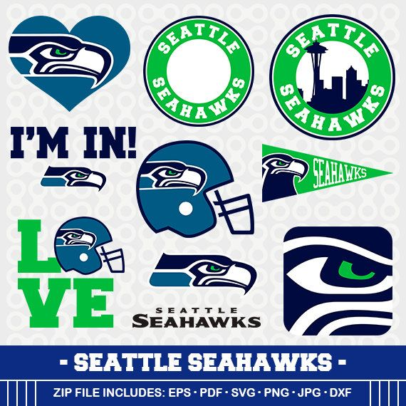 Seattle Seahawks Clipart Seattle Seahawks Svg Svg Cameo Dxf