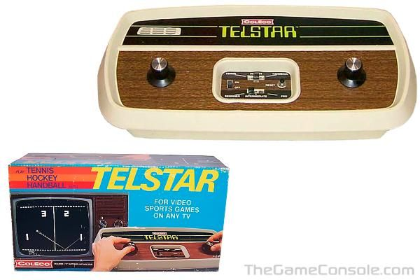 1976 Coleco Telstar Vintage Video Games Retro Video Games Video Game Console