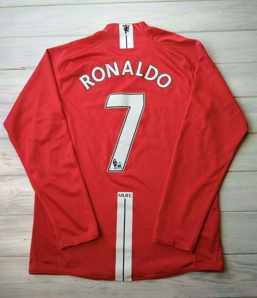 new product 2ab56 173ef eBay #Sponsored Ronaldo Manchester United jersey small 2007 ...