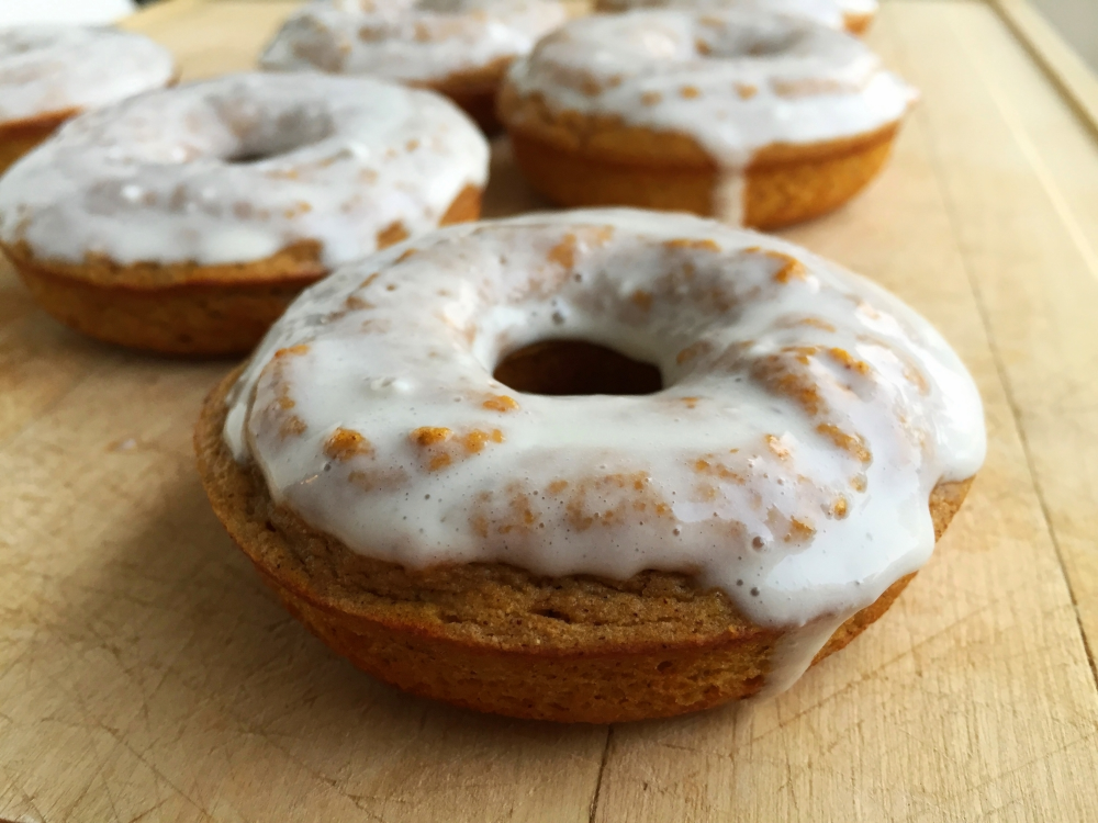 Pumpkin Protein Donuts — My Engineered Nutrition
