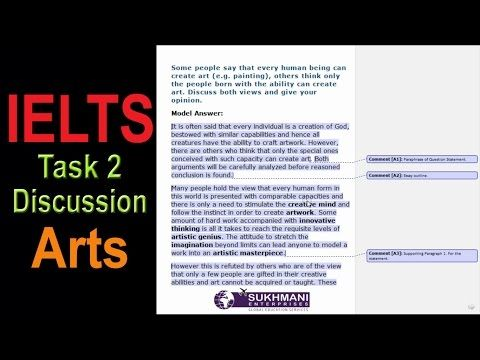 ielts writing discussion essay arts topic kahn  ielts writing discussion essay arts topic